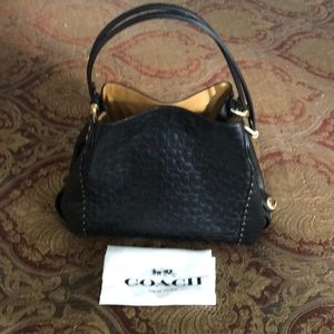 Coach Edie 31 Signature Shoulder Bag #31866